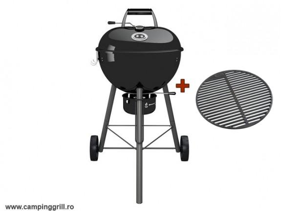 Charcoal cast iron grill CHELSEA 480C