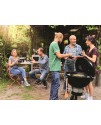 Weber Grill with cover and briquettes E-5750