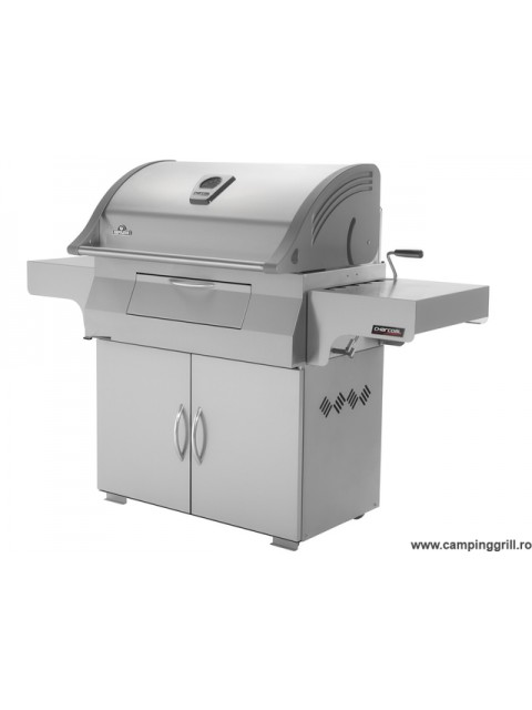 Professional charcoal grill PRO605