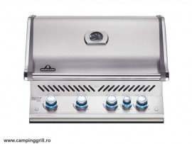 Built-in natural gas grill BIPRO500