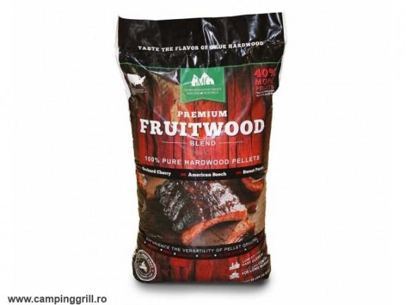 Peleti gratar Premium Fructe 12.7 Kg GMG