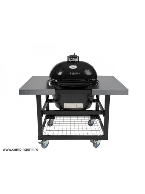 Ceramic Smoker Primo Large with stainless steel tables
