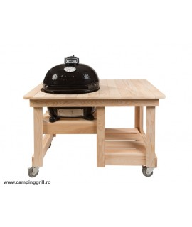 Primo Oval Jr. in wood table