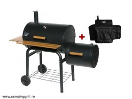 Charcoal barbecue smoker
