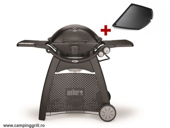 Grill with castiron plate Weber Q3200