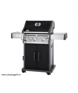 Infrared gas grill Rogue 425 black