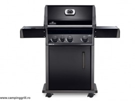Gas grill with side burner Rogue R425SB