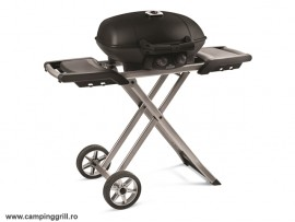 Foldable gas grill TravelQ 285X Black
