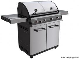 Garden stainless steel grill DUALCHEF S 425G