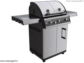 Stainless steel grill DUALCHEF S 325G