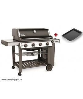 Backyard grill Genesis II E-410 with plate