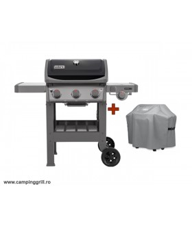 Grill Weber Spirit II E-320 GBS with cover