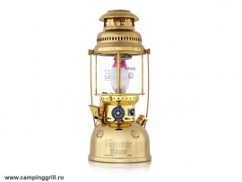 Petromax lamp HK 500 brass